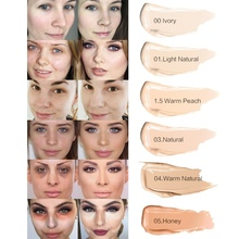 2019 Full Cover Liquid Concealer Makeup 6ml Eye Dark Circles Cream Face Corrector corrector maquillaje the sampar sampar 6ml