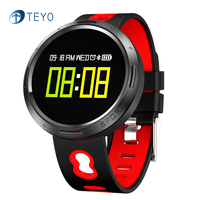 Teyo Heart Rate Monitor Colorful Screen Smart Band X9-VO Waterproof Pedometer Smart Wristband Fitness Bracelet For Android IOS