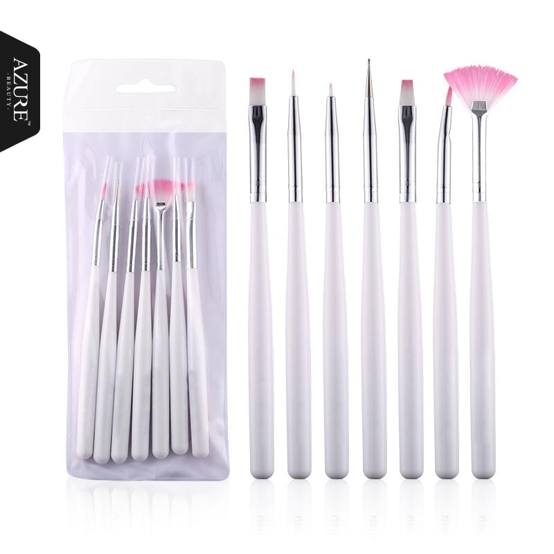 Hot Sale Nail Tools 7Pcs Rose Design Nail Art Pen Painting Dotting ...