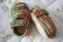 High Quality! Mother Series! Hand Knitted Crib Shoes Newborn Baby Infant Toddler Woolen Knitted By My Mum Only one Pair