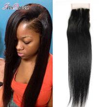 Peruvian Virgin Hair Straight Lace Closure Ms Lula Hair Peruvian Straight Closure 7A Grade Virgin Unprocessed Human Hair Closure