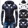 Brand Hoodies Jacket Men Fashion Design Printed Mens Slim Hooded Jacket Casual Stylish Cardigan Sweatshirt DL001