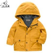 2017 Autumn Spring new arrival infant boys warm trend coat kids england outwear children fashion cotton brand jacket WT24055