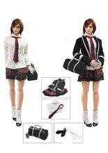 1/6 Japanese Girl Students School Uniform set for 12''action figure DIY