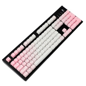 Image 5 - YMDK Double Shot 104 Dyed PBT Shine Through OEM Profile Rainbow Keycap set Suitable For Cherry MX Switches Mechanical Keyboard