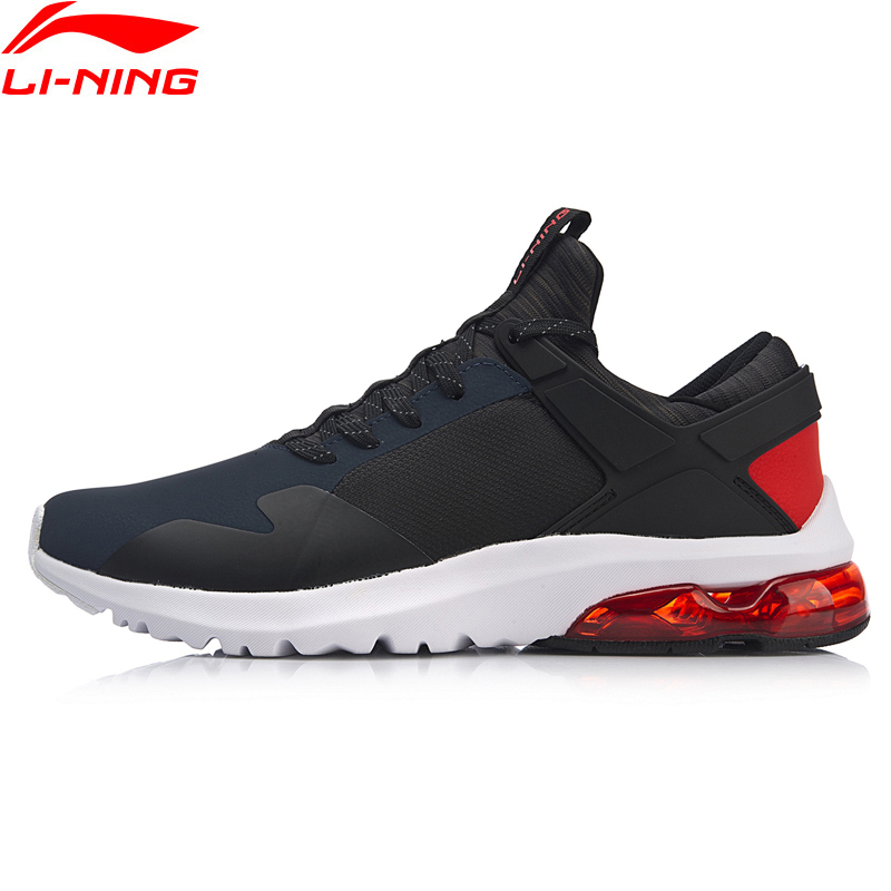 Li-Ning Men BUBBLE UP II LEATHER Walking Shoes Light Weight Support Classic LiNing Wearable Sport Shoes Sneakers AGCN129 YXB239