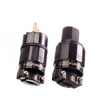 цена на FURUTECH FI-E11(G) /FI-11-N1(R) Power plug Rhodium end Schuko-Stecker IEC 15A/125V 16A/ 250V MATIHUR