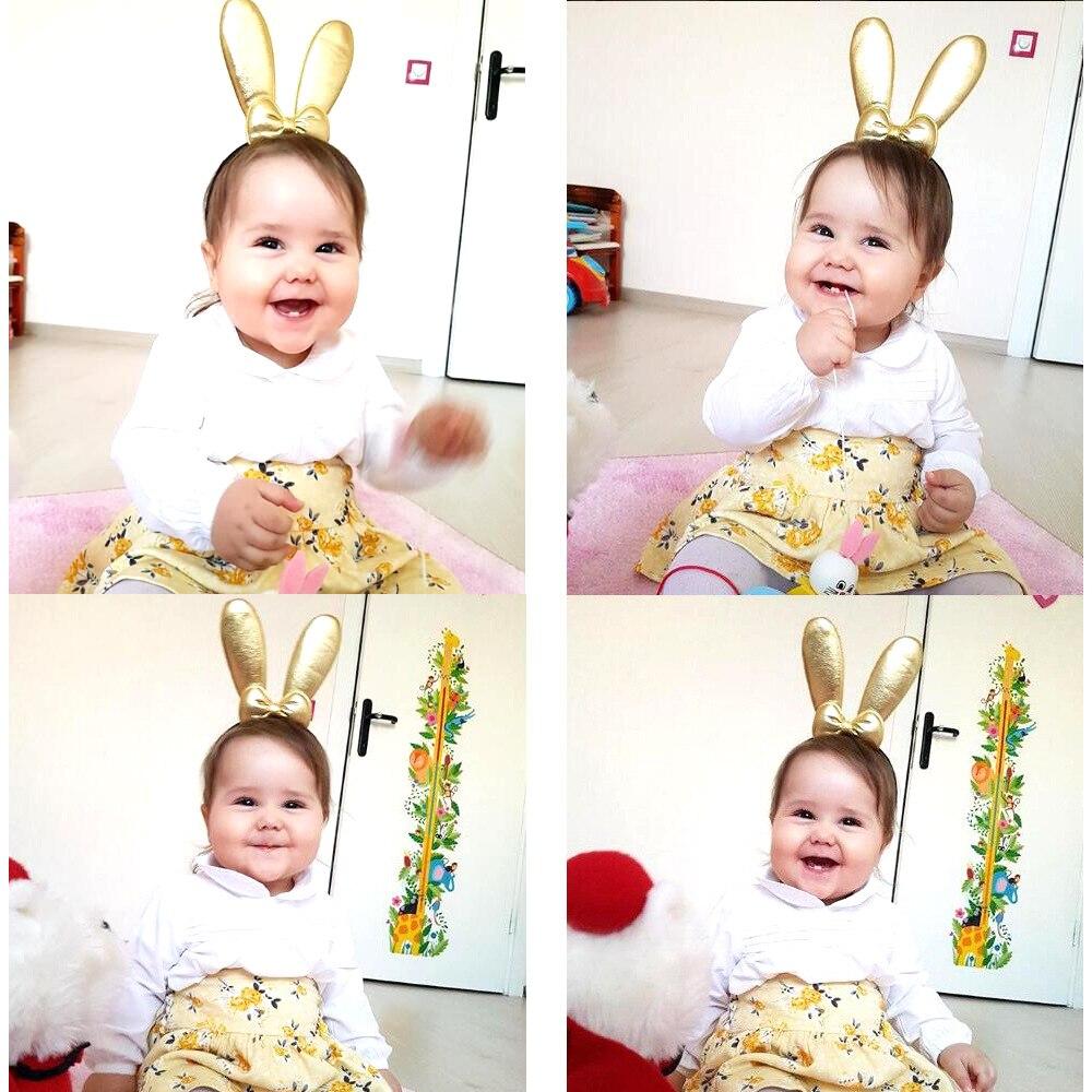 Baby Girl Toddler Rabbit Bunny Ear Headband Hair band Bows Korean Fashion Style