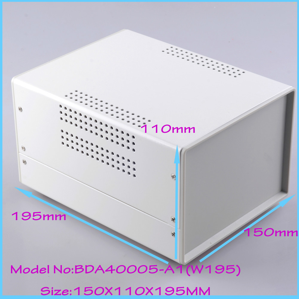 (1pcs)150x110x195mm diy cabinet iron electrical junction box project box pcb steel enclosure electronic enclosure iron e cap aluminum 16v 22 2200uf electrolytic capacitors pack for diy project white 9 x 10 pcs
