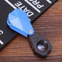 2018 Pocket Mini 10x Power 18mm Magnifying glass Eye Loupe Jewelry Diamond Inspecting Detection