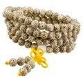 108 Тибетского Буддизма Будда Мала Медитация Четки 6/9 мм Браслет Ожерелье