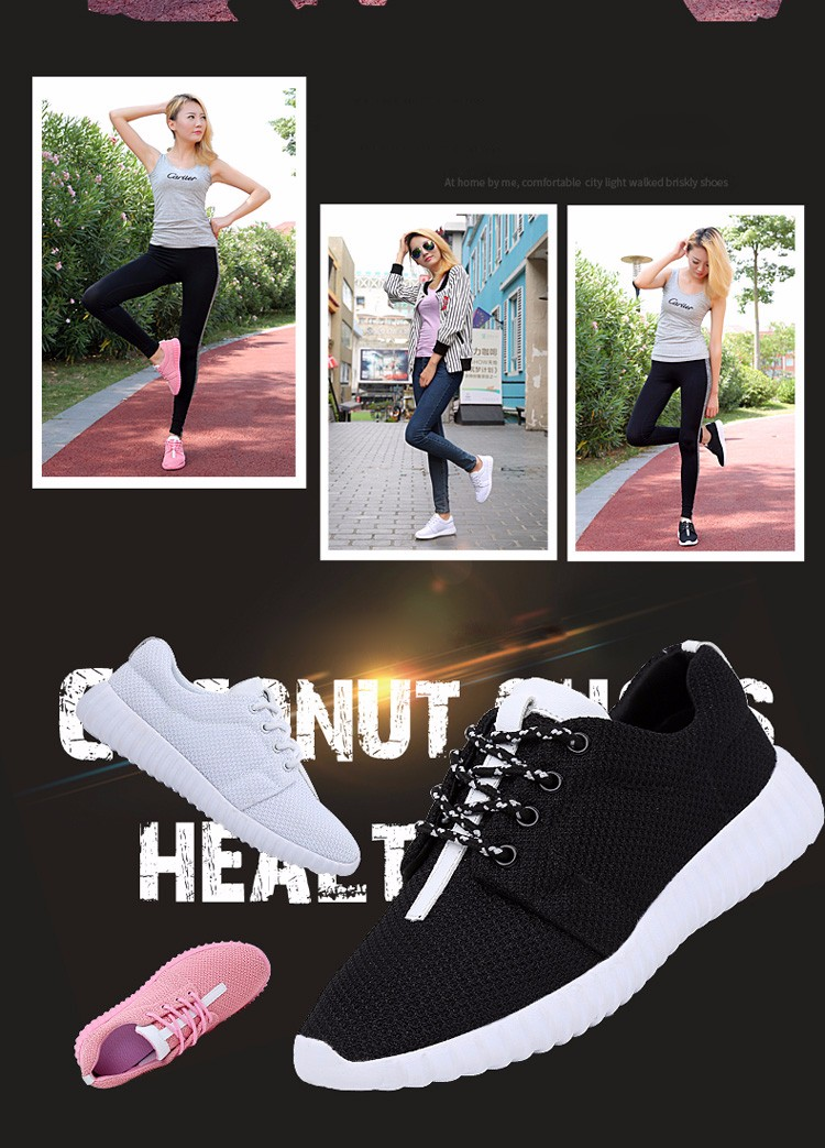 Super Soft Women Trainers Breathable Runner Shoes 2017 Spring Sport Women Casual Shoes Zapatillas Deportivas Fashion Shoes ZD11 (2)