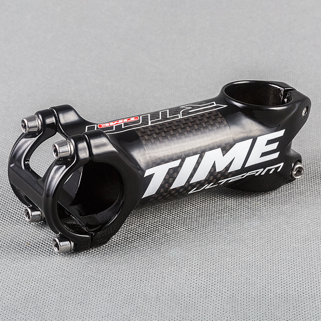OEM Time Aluminum Alloy & Carbon Bicycle Stem Road Bike Light Weight MTB Stem