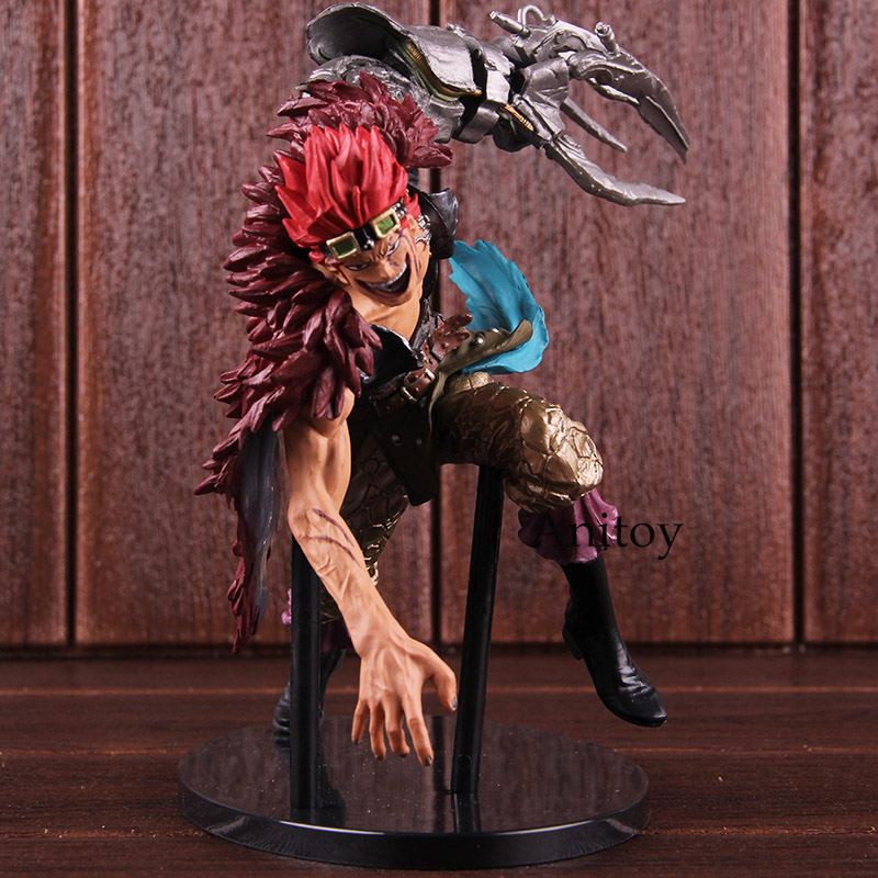 One Piece Banpresto Figure Colosseum SCultures BIG Zoukeiou 4 Eustass Kid Buggy One Piece Figure Action Collectible Model Toy japan anime one piece original banpresto scultures big zoukeiou 4 pvc figure vol 4 buggy