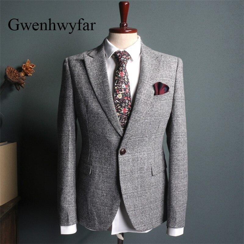 Aliexpress.com : Buy Gwenhwyfar 2018 Vintage Plaid Suits