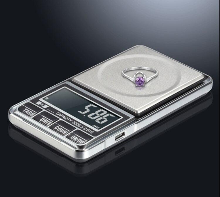 digital, joia, equilíbrio de peso, usb, alimentado