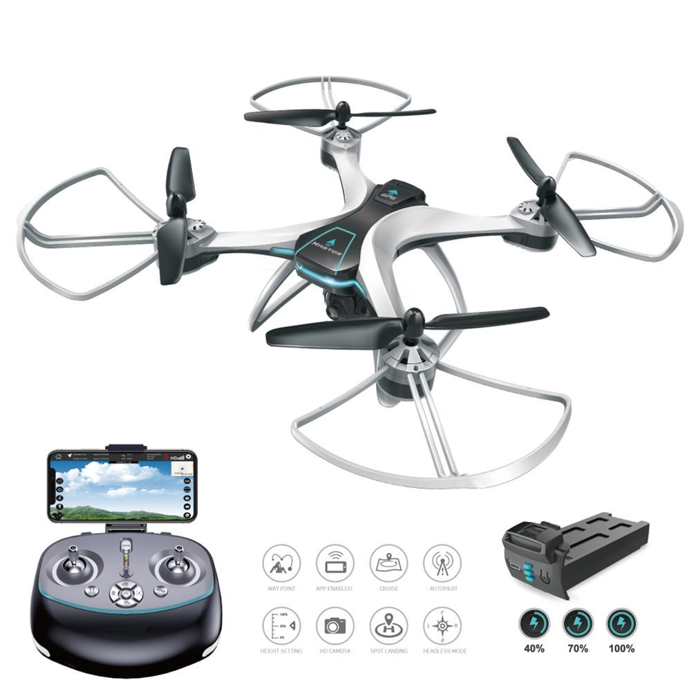 FX-8G 6-axis WIFI FPV RC Drone With 720P/1080P HD Camera Follow Me Onekey Return Altitude Hold Headless Mode GPS Quadcopter professional rc drone fx r111f 5 8g fpv quadcopter 2 0mp camera 6 axis rc drone one key return headless mode led rtf vs q212g