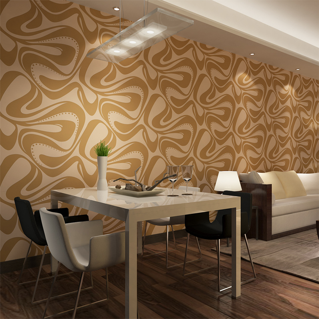 HANMERO Contemporary Living Room Wallpaper Waterproof Non Woven Wall  Coverings Living Room TV Background QZO445