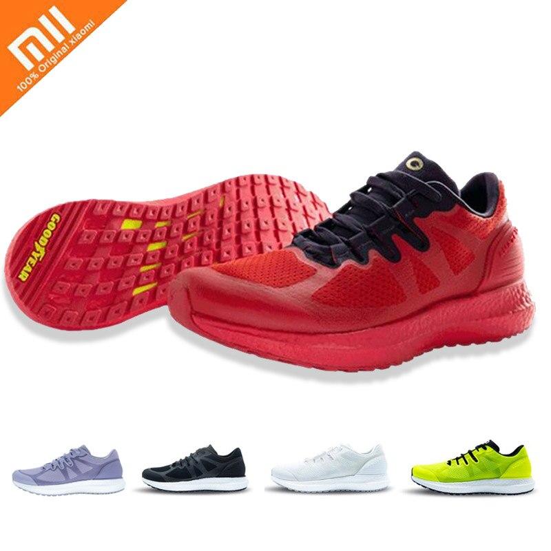 Chaude Xiaomi Amazfit Marathon formation Sneaker léger respirant chaussures de Sport stables bas-top Couple chaussures pour femmes hommes