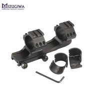 1PC Scope Mount 25 4mm 30mm Dual Ring Cantilever Heavy Duty Picatinnywith 20mm Weaver Rail Hunting