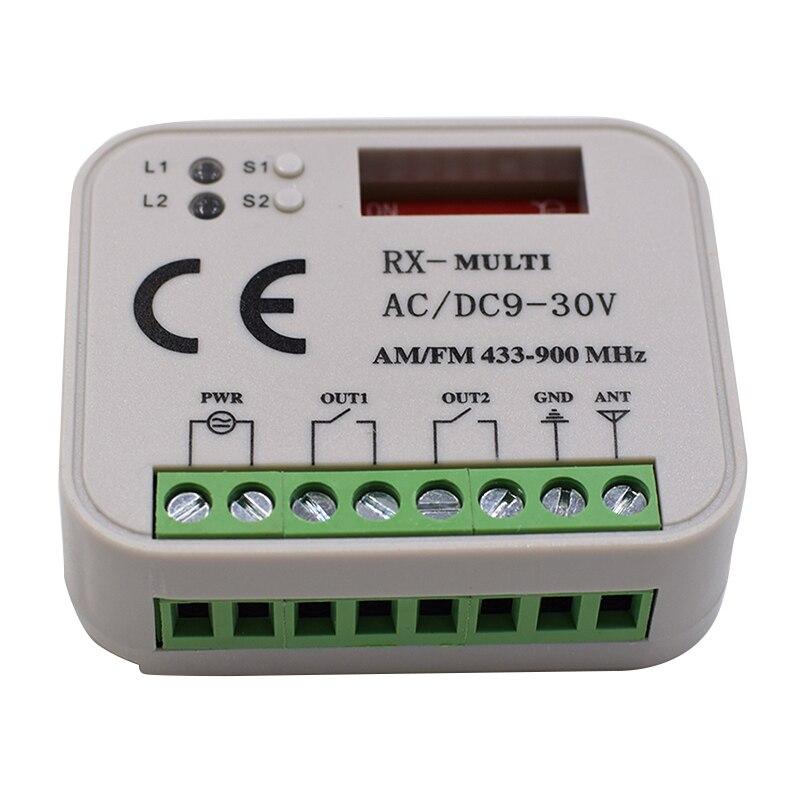315mhz 433mhz 868mhz Faac,ditec,sommer,liftmaster,faac,marantec,hormann Rolling Code Remote Control Receiver