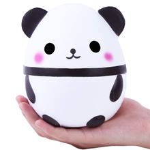 New Jumbo Kawaii Panda Squishy Slow Rising Creative Animal Doll Soft Squeeze Toy Bread Scent Stress Relief Fun for Kid Xmas Gift