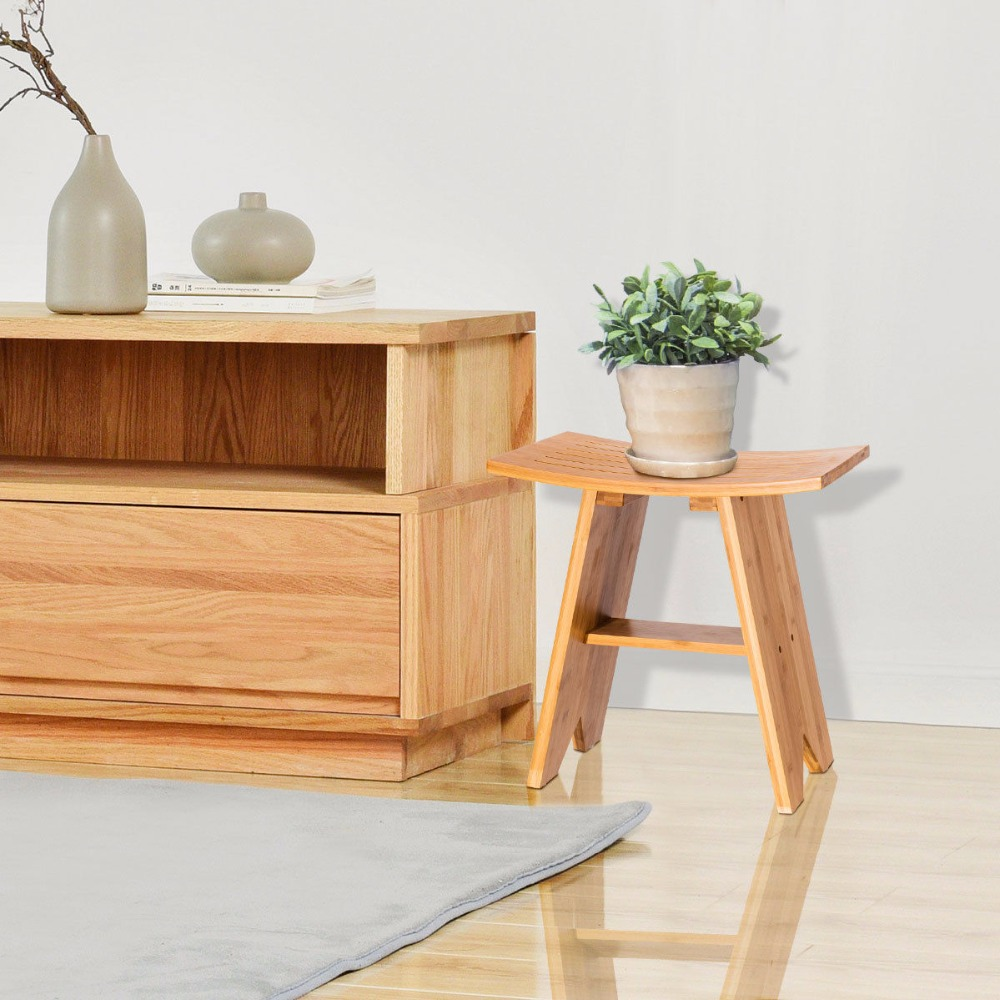 traditional solid teak home beauty dp amazon spa bench com conair look