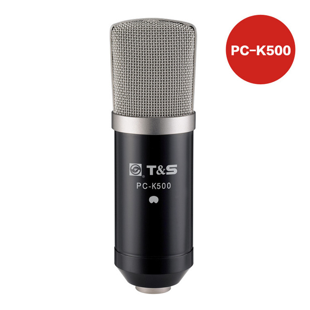 Earthsound pc-k500 professional capacitor computer microphone set