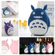 Totoro Power Bank 18650 Carton 12000mAh Portable Charger Powerbank USB External Battery Backup Battery for iphone 6 s
