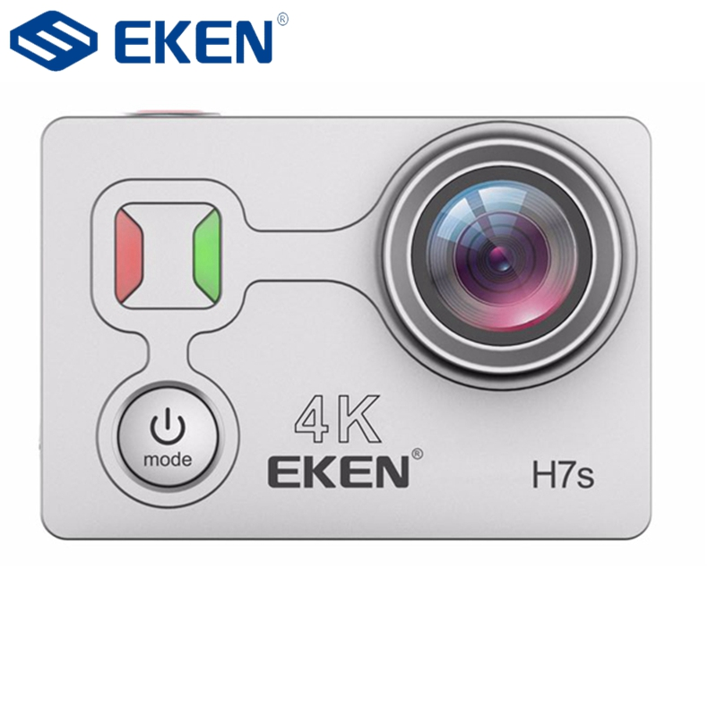 EKEN H7s 4K 30fps 12M Wifi Waterproof Action Camera Sport DV 2 Inch 170 Degree Wide Angle Remote Control Support 64GB gitup git1 1 5 inch lcd wifi rf control action camera