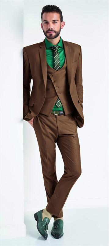 Brown Prom Tuxedo Promotion-Shop for Promotional Brown Prom Tuxedo ...