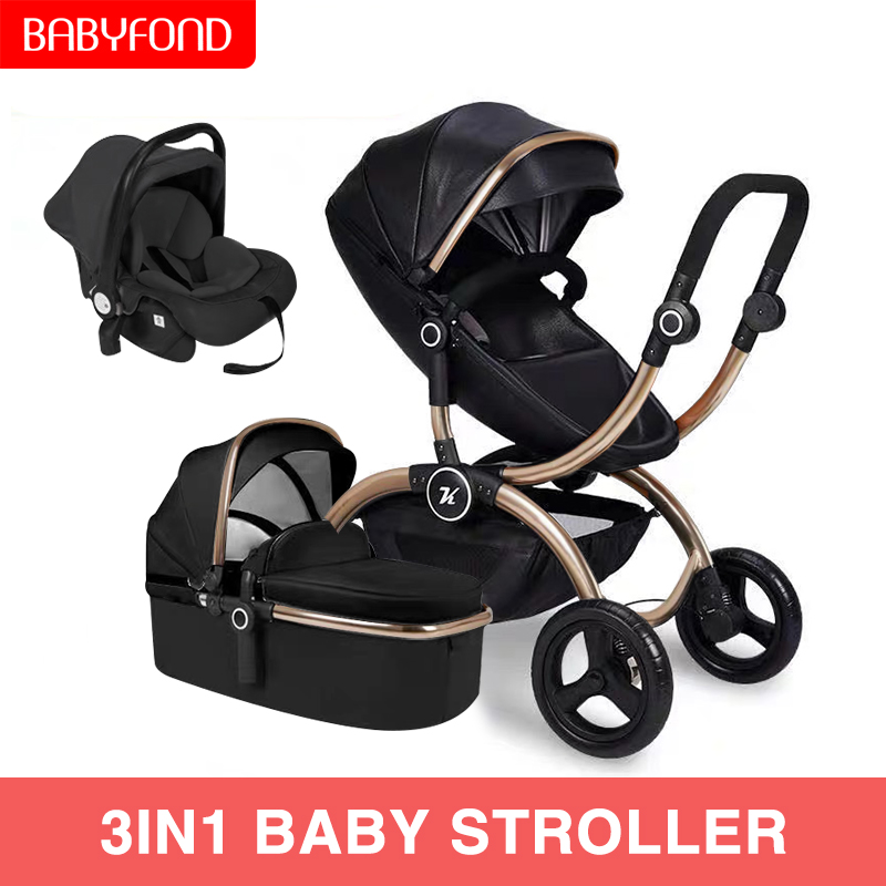 2019 new me white baby stroller 360 degree rotation high landscape two-way 3in1 stroller SUV level suspension2019 new me white baby stroller 360 degree rotation high landscape two-way 3in1 stroller SUV level suspension