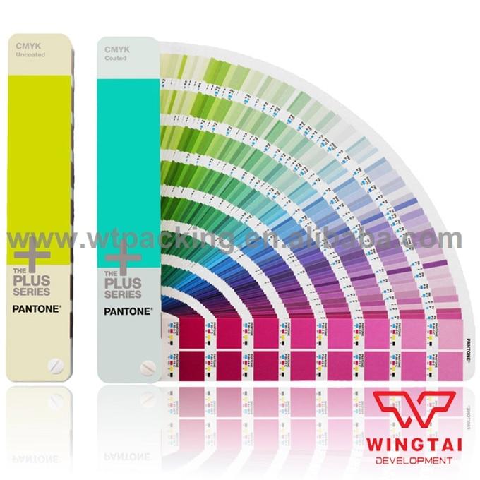 2 Books Newest 2868 Colors Guide Set GP5101 C/U USA CMYK Pantone Color Guide