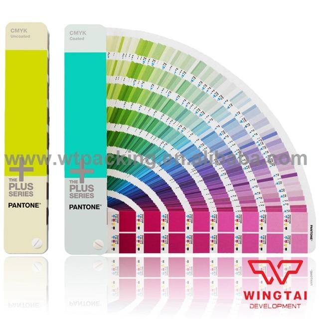 2 books newest colors guide set gp5101 cu usa cmyk pantone color guide
