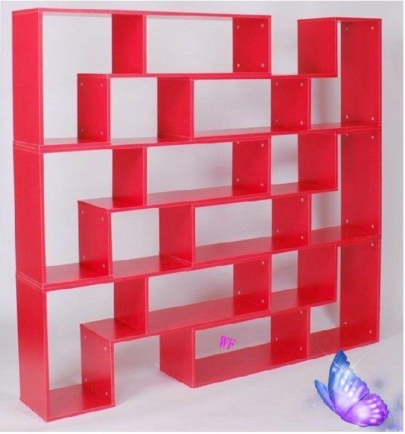 Manufacturers lowest, L shaped shelf bookcase bookcase display ...