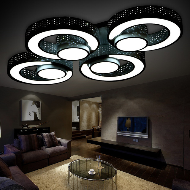 euignis v led ceiling light luces led para casas lampara techo plafonnier led plafoniere with luces de led para casa