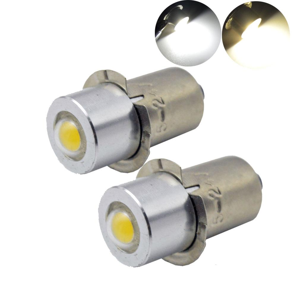100X P13 5S PR2 PR3 PR4 High power 1W spot indicator led light Warm White 4300K
