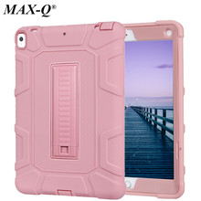New Silicon PC Safe Back Cover Stand Protective Shell Tablet Kids Case For Apple iPad Pro 10.5 inch A1701 A1709 Fashion Cases