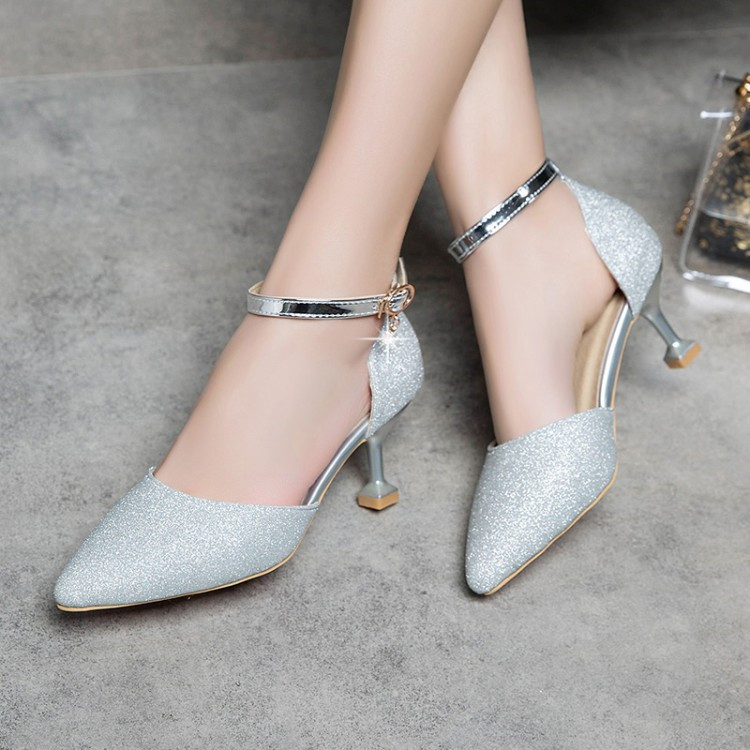 Bridal Shoes High Heels: PXELENA Women Sandals Strange High Heel Wedding Shoes