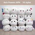 Hetalia: Axis Powers plush toys Anime APH Ludwig Kiku Alfred Arthur Russia cosplay plush dolls pillow 16 styles free shipping