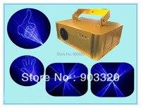 Freeshipping 15 20KPPS Alta Pwoer 1W Azul Luz Laser Com Efeitos de Animação  Animação Laser Show System  luz Do estágio Do Laser laser bag light laser light power -