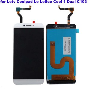 Image 1 - לבן מקורי LCD עבור Letv LeEco Coolpad cool1 מגניב 1 c103 LCD תצוגה + מסך מגע Digitizer עצרת החלפת משלוח כלים