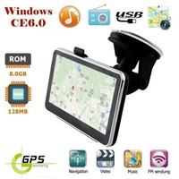 4 inch TFT LCD Touch Screen Car GPS Navigation Navigator 800M/Bluetooth/AV IN/8GB/256M Maps For Europe North America Russia