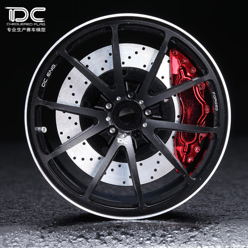 DC FOR 1 10 RC DRIFT CAR ALLOY WHEEL HUB 6 offset G25 TYPE 4PCS SET
