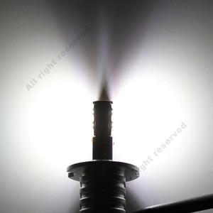 Image 5 - 2pcs H3 H1 자동차 LED 전구 안개 빛 화이트 1000LM 12 SMD 샤 프 칩 높은 밝은 자동 헤드 라이트 LED 램프 6000K 12V 24V D040