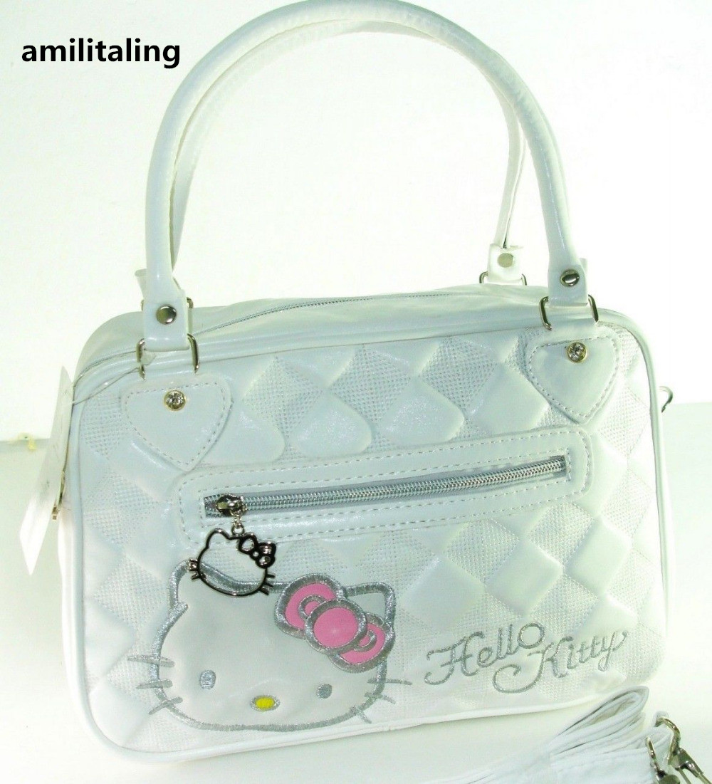267d5e137 New Hello kitty Shoulder bag Hand Bag Purse With Shoulder Strap YE-898W