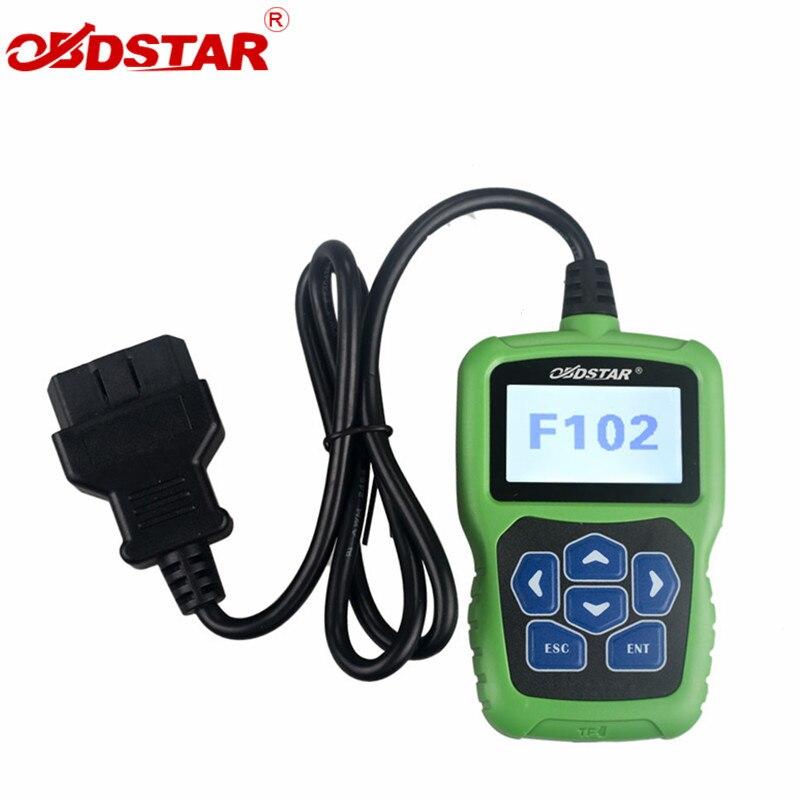 OBDSTAR F102 иммобилайзер Pin-код для читателя Nissan/Infiniti авто ключ программы коррекция одометра инструмент без ограничения маркеров