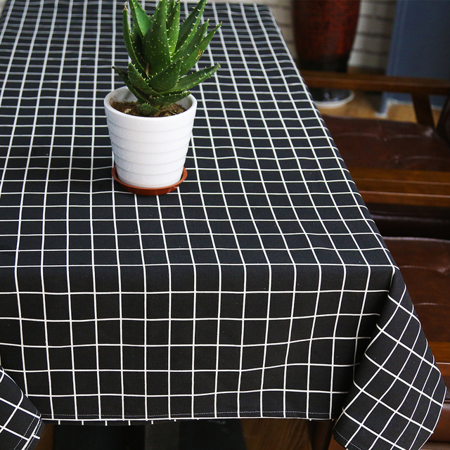 Sytlish Linge Table Tissu Pays Style Plaid D'impression Multifonctions Rectangle Couverture De Table Nappe Accueil Cuisine Décoration 2
