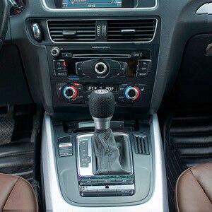 Image 2 - 5 geschwindigkeit Schaltknauf Aluminium Auto Getriebe Kopf Schwarz Übertragung Manuelle Knopf Schalthebel 1 Pcs