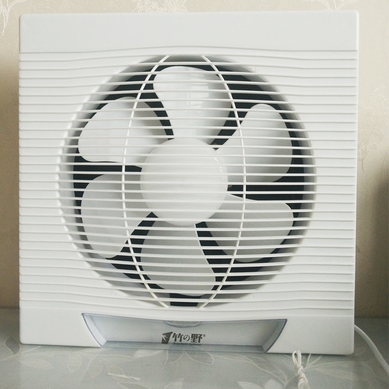 10 Inches Ventilator Kitchen Window Type Exhaust Fan Household Bathroom Silent Wall Exhaust Fan 12 inches ventilator pipeline exhaust fan strong kitchen oil exhaust wall type square ventilator 300mm